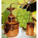 Copper Alembic - Bain Marie 20L