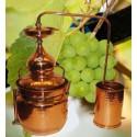 Copper Alembic - Bain Marie 100L